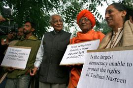 Support for Taslima Nasrin