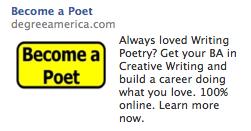 A Facebook Ad. No Kidding.