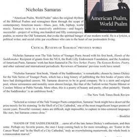 Nicholas Samaras's New Book should be on Your Radar…