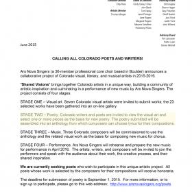 Invitation to Colorado Poets—Ekphrasis x 2 (Note Highlighted ¶)